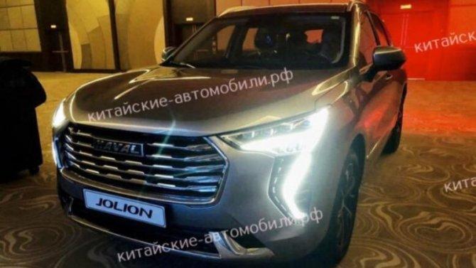 Появились первые изображения российской версии Haval Jolion