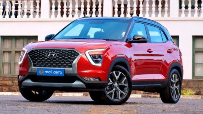 Показаны рендеры российской версии Hyundai Creta нового поколения