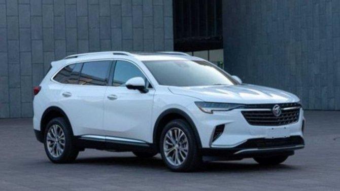 Рассекречены некоторые данные нового кроссовера Buick Envision Plus