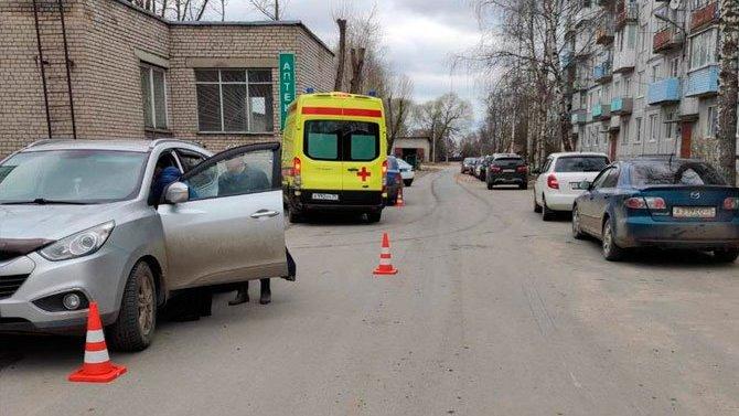 В Соколе сбили 7-летнего ребенка