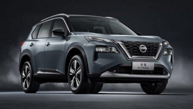 Шанхай-2021: дебютировал кроссовер Nissan X-Trail нового поколения