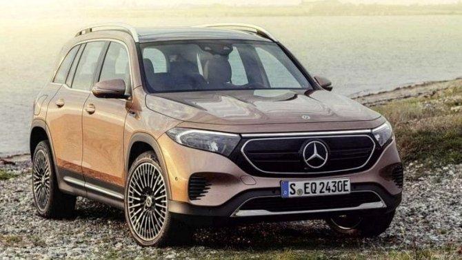 Шанхай-2021: состоялась премьера электрического кроссовера Mercedes-Benz EQB