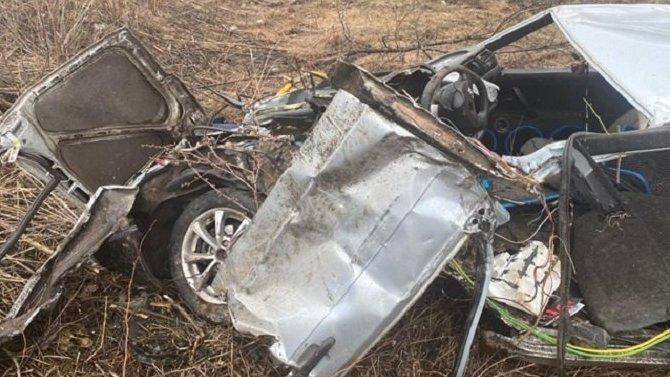 В Скопинском районе ВАЗ попал под поезд – погиб молодой водитель