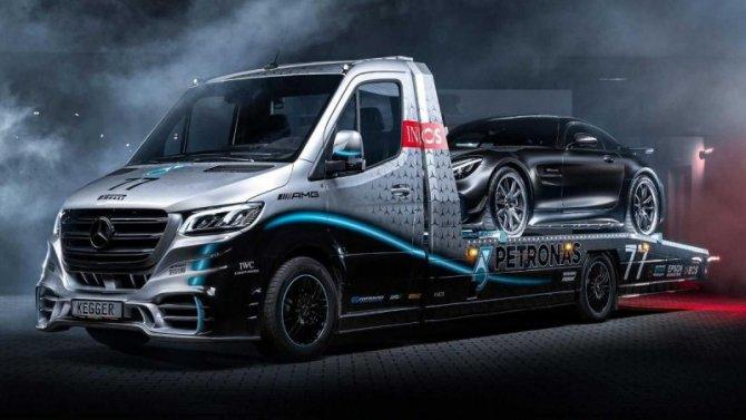 Mercedes-Benz Sprinter стал эвакуатором