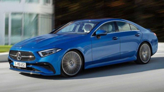 Состоялась премьера обновлённого спорт-седана Mercedes-Benz CLS