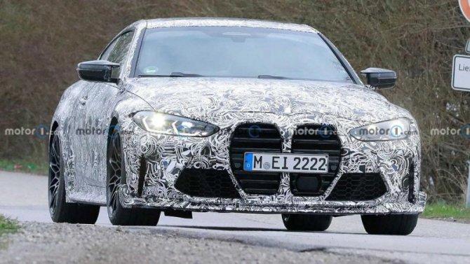 Наиспытания выехало обновлённое купе BMW M4 CSL