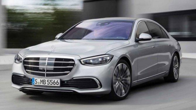 ВРоссии стартовал приём заказов нановый Mercedes-Benz S-Кlassе