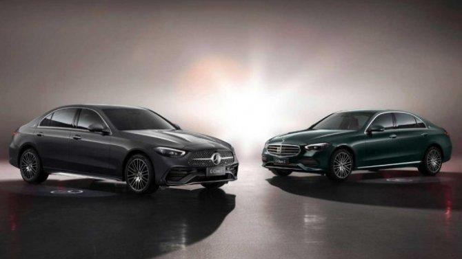 Шанхай-2021: представлен удлинённый Mercedes-Benz C-Кlassе