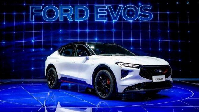 Шанхай-2021: состоялась премьера нового кроссовера отFord Motor Co.