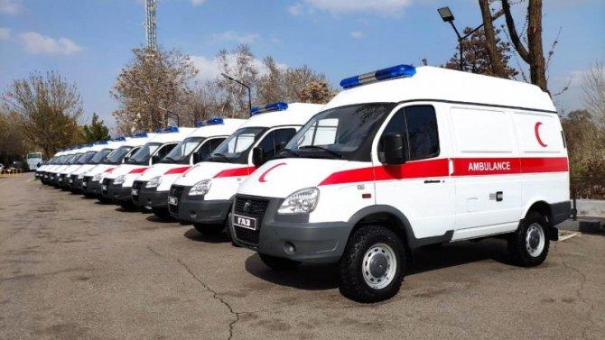 Узбекистан закупил уГАЗа автомобили скорой помощи