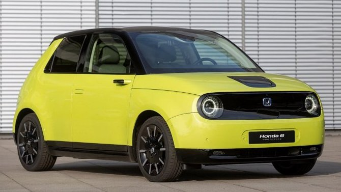 Фирма Honda представит вШанхае свой первый электромобиль