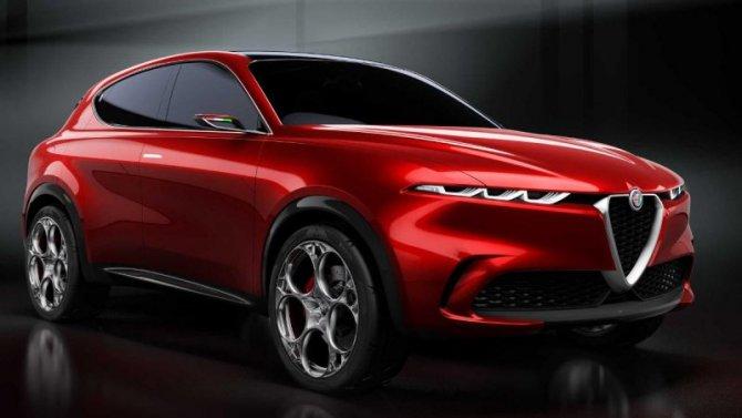Отложена премьера нового кроссовера Alfa-Romeo Tonale