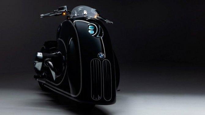 Представлен оригинальный кастом набазе BMW R18