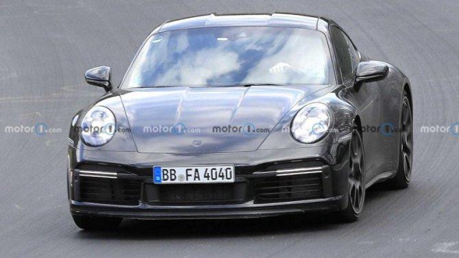 На «Нюрбургринге» появился рестайлинговый Porsche 911 Sport Classic