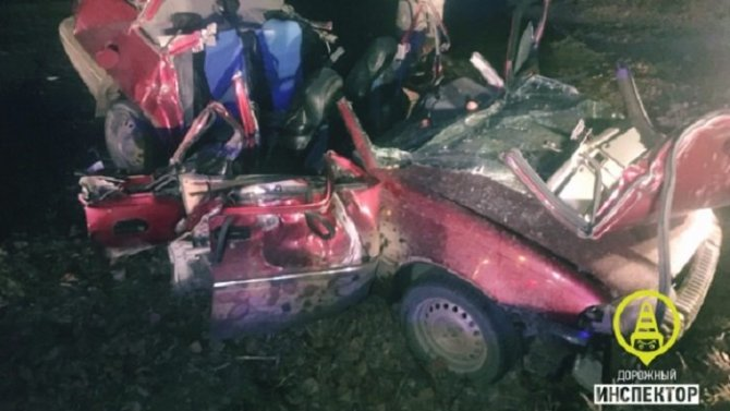 Пьяный водитель погубил двух пассажиров во Всеволожском районе Ленобласти
