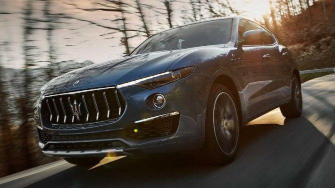 Кроссовер Maserati Levante получил гибридную модификацию
