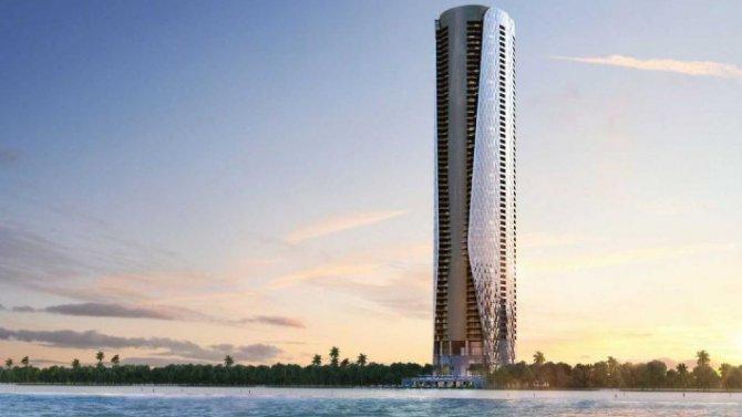 Фирма Bentley построит элитный небоскрёб сгаражами возле квартир