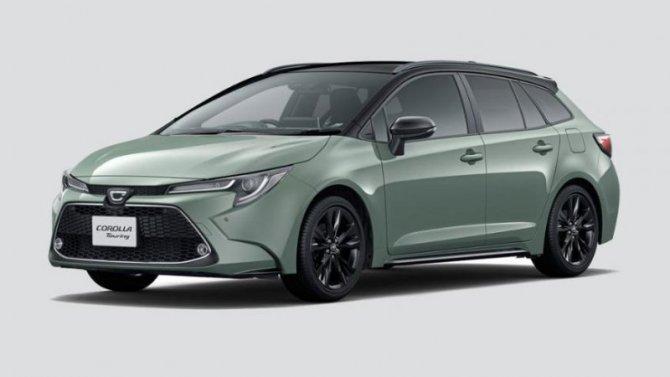 ВЯпонии начались продажи новой версии универсала Toyota Corolla