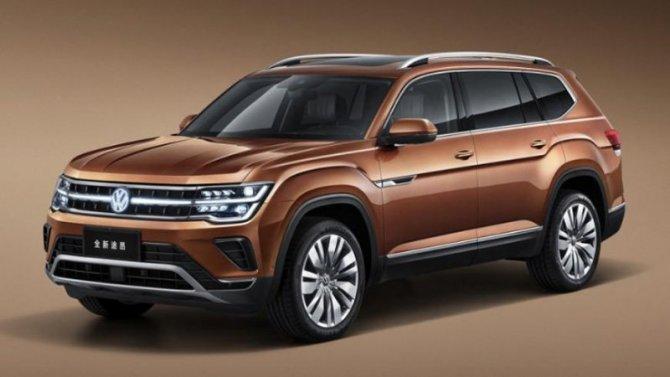 Volkswagen Teramont прошёл рестайлинг