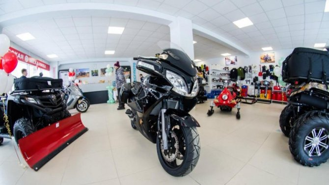 В России резко снизились продажи новых мотоциклов