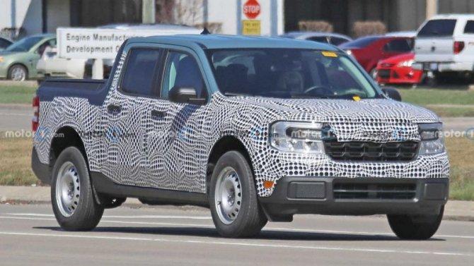Опубликованы снимки базовой модификации Ford Maverick