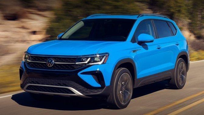 Volkswagen Taos: появились данные орасходе топлива