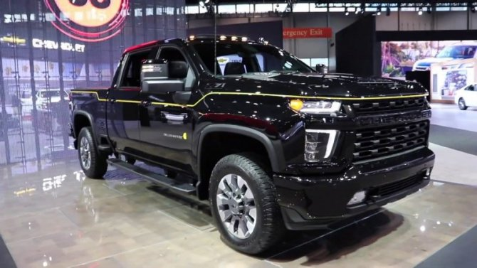 Chevrolet Silverado получит электропривод