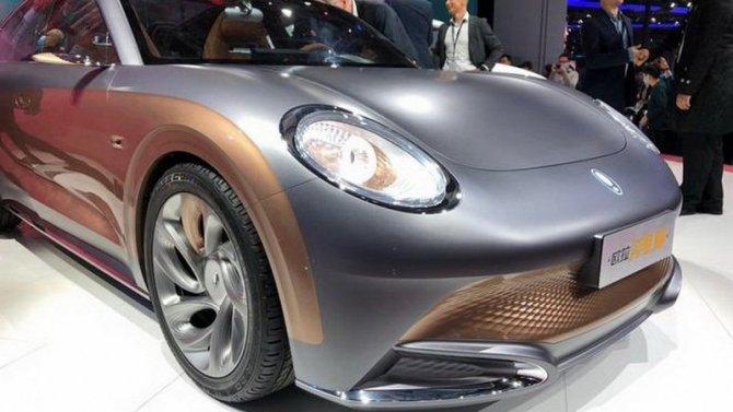 Шанхай-2021: концерн Great Wall представил концептуальный электромобиль под новой маркой