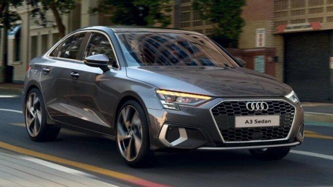 ВРоссии начался приём заказов наобновлённые Audi A3