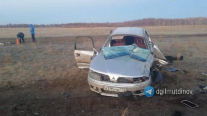 30-летняя женщина погибла в ДТП в Башкирии