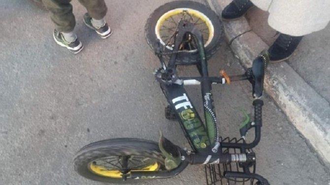 В Челябинске водитель сбил 6-летнего велосипедиста и скрылся