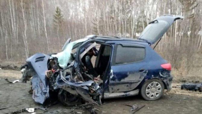 Оба водителя погибли в ДТП в Челябинской области
