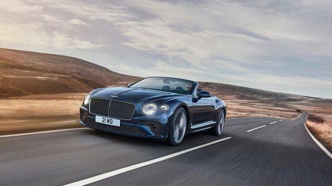 Состоялась презентация кабриолета Bentley ContinentalGT