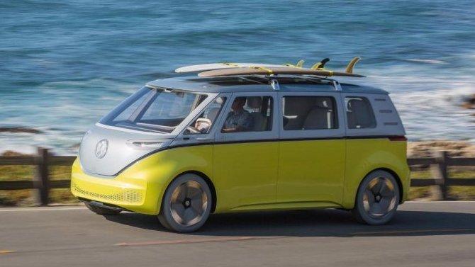 Электрический микроавтобус Volkswagen появится через два года