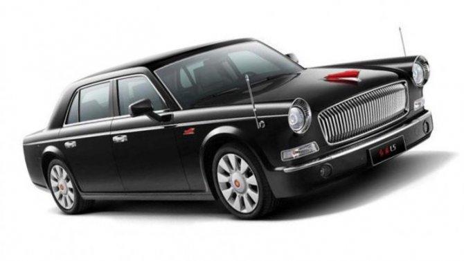 ВКитае испытывается гражданский вариант правительственного лимузина
