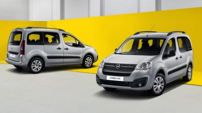 ВРоссии начались продажи нового Opel Combo Life