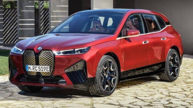 BMW iX: появилась новая информация
