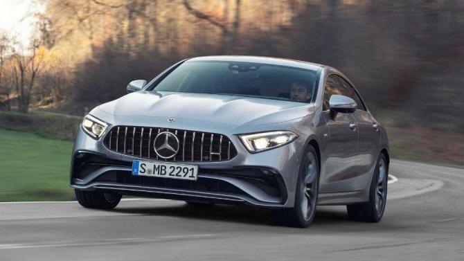 Представлено обновлённое купе Mercedes-AMG CLS 53