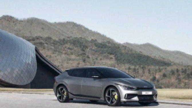 Шанхай-2021: представлен первый электромобиль фирмы KIA