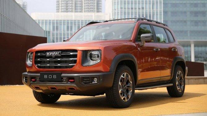 Great Wall представил российские версии двух своих SUV