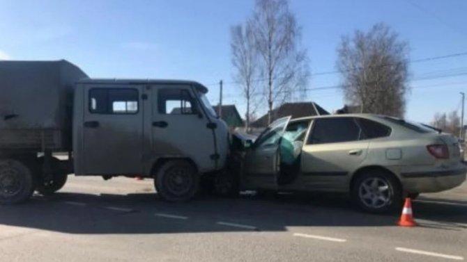 8-летний ребенок пострадал в ДТП в Брянске