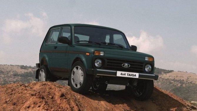 Налажен экспорт Lada Niva Legend вГерманию