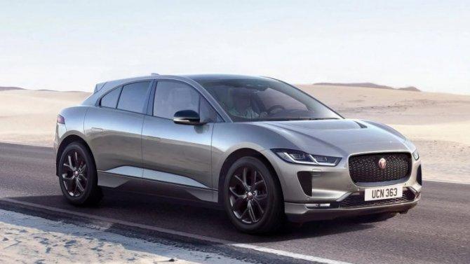 Jaguar I-Pace «почернел»