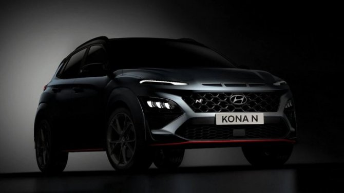 «Заряженный» Hyundai Kona Nпредставят через две недели