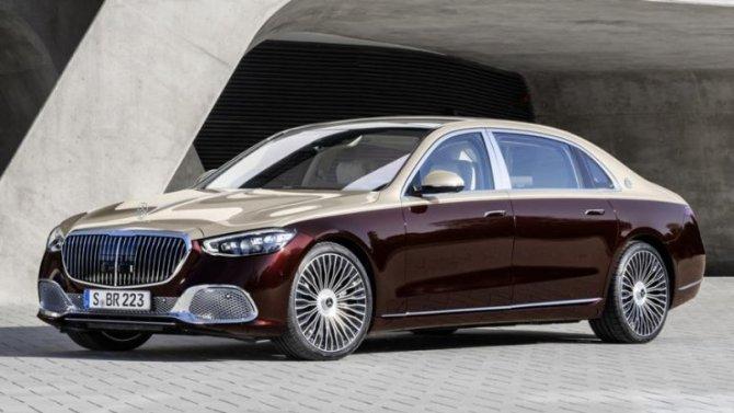 В России начался приём заказов на новый Mercedes-Maybach S-Кlassе