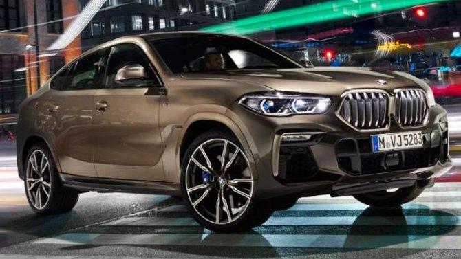 Кроссоверы BMW X6 могут терять спойлеры