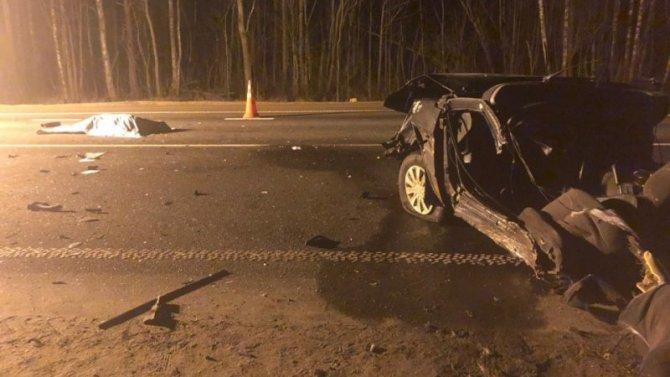 В ДТП в Псковской области погибли два человека
