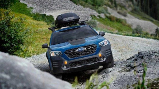 Объявлены цены навнедорожный универсал Subaru Outback Wilderness Edition
