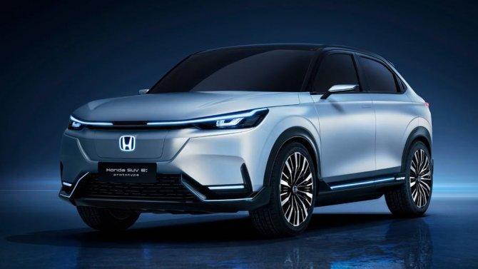 3 Honda SUV e-prototype