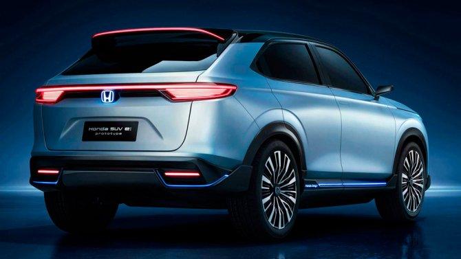4 Honda SUV e-prototype